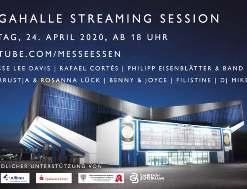 Erstes Live-Streaming Event aus der Grugahalle am 24. April